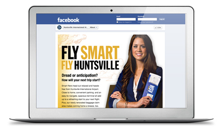 Fly Smart Fly Huntsville Campaign Facebook Page