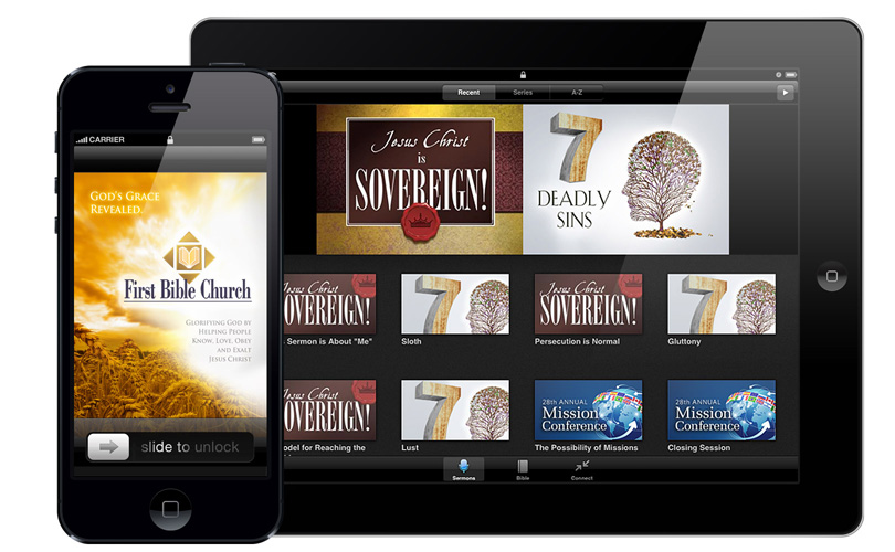 First Bible Church app